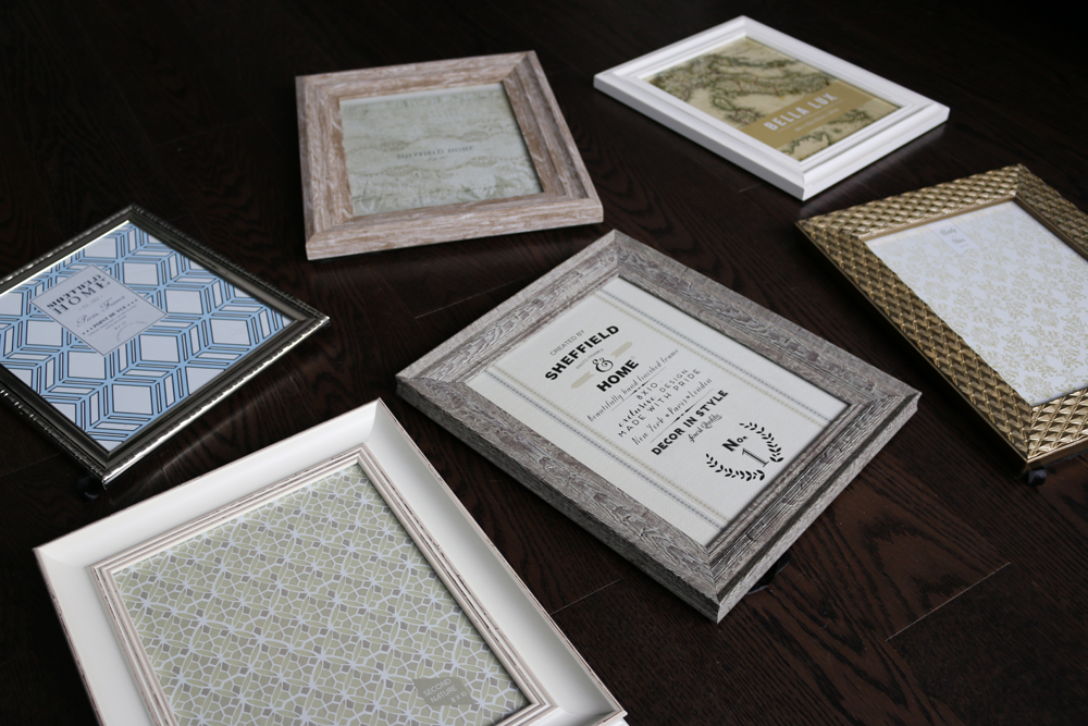 HomeSense Picture Frames Inspired By Nick