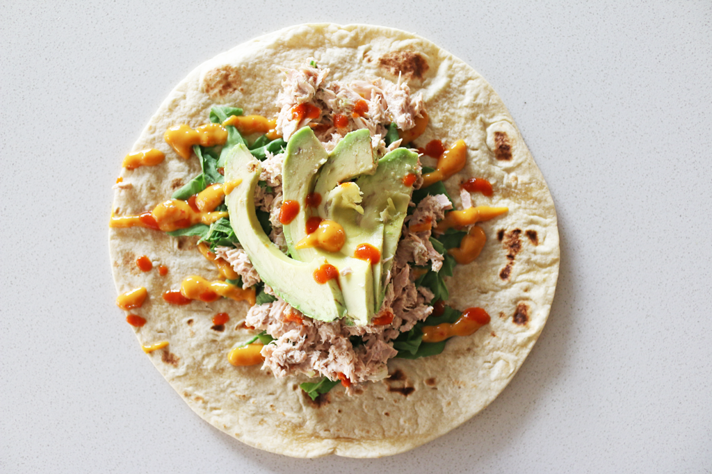 Super Easy Tuna Wrap Recipe