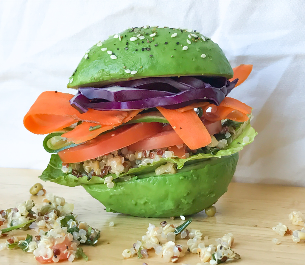 avocado burger snack ideas inspired by nick