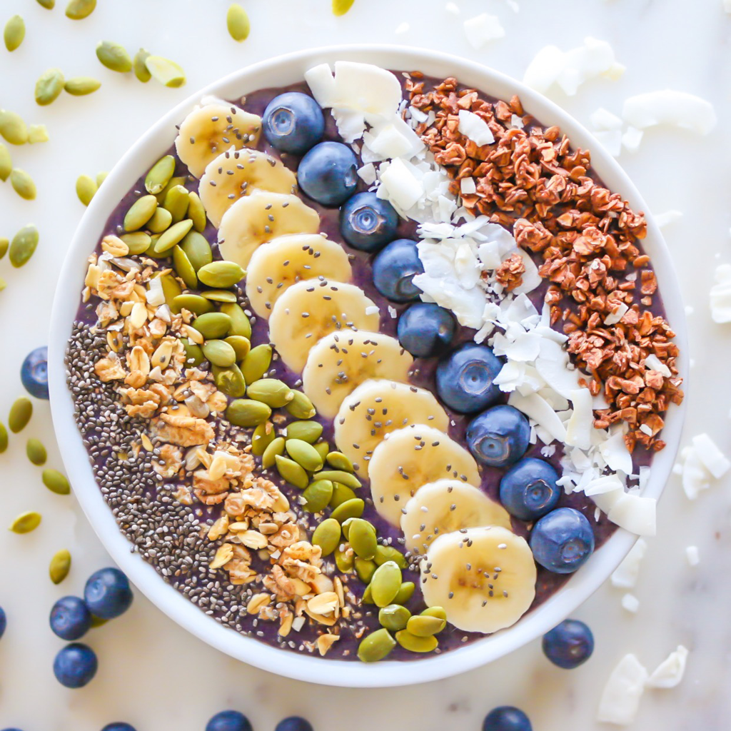purple smoothie bowl recipes inspired by nick