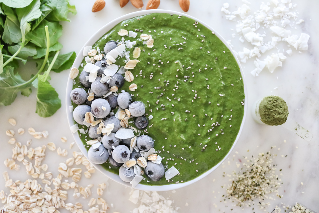 vegan green smoothie recipe health blog