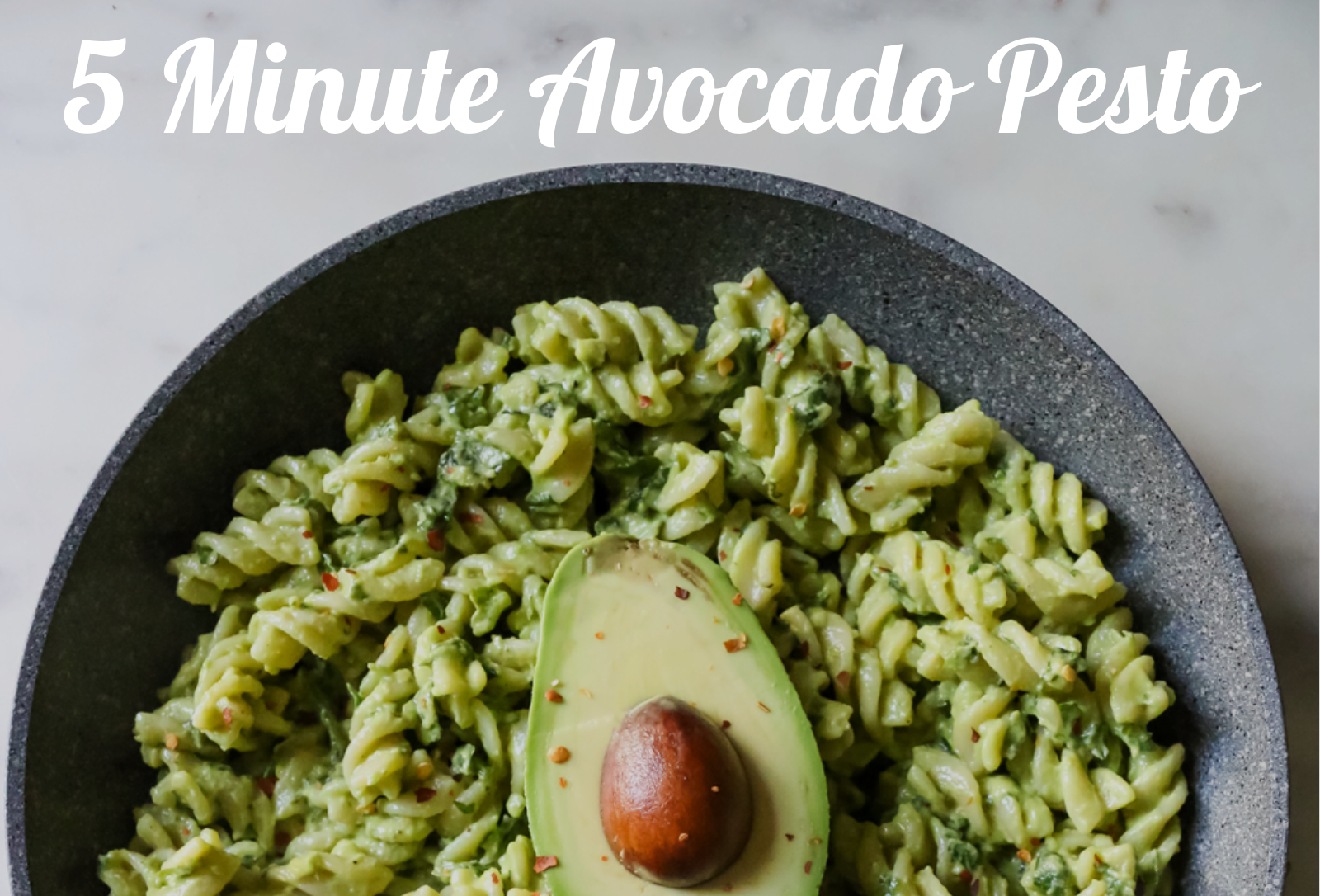 inspired by nick 5 minute pesto
